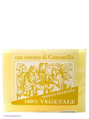 Натуральное глицериновое мыло с  экстактом ромашки, 150 гр Iteritalia. Цвет: светло-желтый