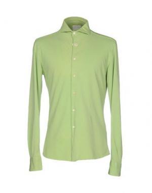 Pубашка FRADI. Цвет: светло-зеленый