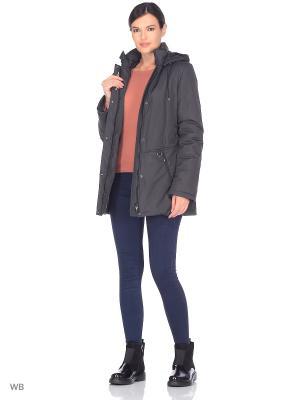 Куртка MELINA Maritta. Цвет: антрацитовый