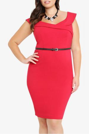 Платье Melisita. Цвет: красный