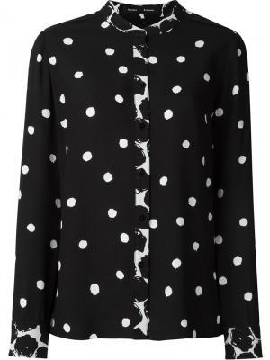 Блузка в горошек Proenza Schouler. Цвет: чёрный