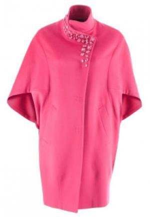 Пальто HERESIS. Цвет: розовый