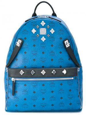Рюкзак Stark MCM. Цвет: синий