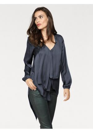 Блузка RICK CARDONA by Heine. Цвет: темно-зеленый, темно-синий