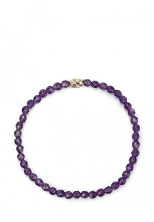 Браслет Karmonia. Цвет: фиолетовый