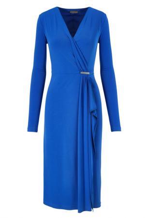 Платье Apart. Цвет: королевский голубой