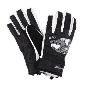 Перчатки сноубордические женские  Feva Glove Gtx Black Pow. Цвет: черный