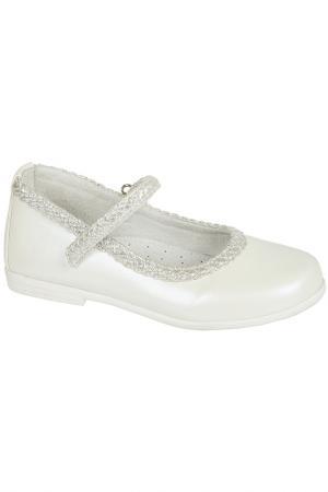 Туфли MURSU. Цвет: белый