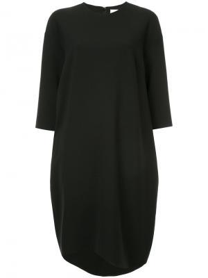 Платье-шифт средней длины Enföld. Цвет: чёрный