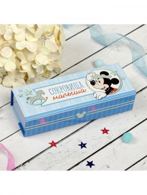 Памятный набор для новорождённых Disney. Цвет: голубой