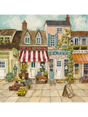 Картина - репродукция Парижская улочка Magic Home. Цвет: коричневый,бежевый