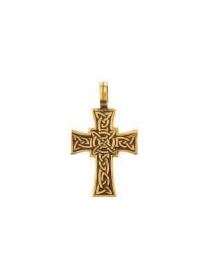 Амулет защитный Лучезарный крест Aztek. Цвет: желтый