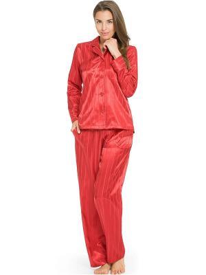 Пижама Taubert. Цвет: красный