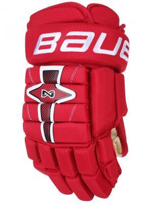 Перчатки BAUER NEXUS N7000 Взрослые. Цвет: красный