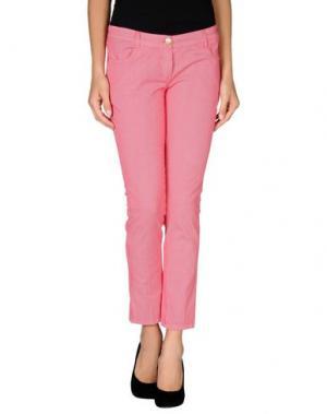 Повседневные брюки HANNY DEEP. Цвет: красный