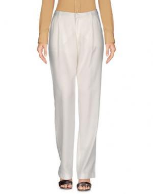 Повседневные брюки TWIST & TANGO. Цвет: белый