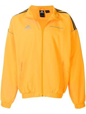 Спортивная куртка на молнии Gosha Rubchinskiy. Цвет: жёлтый и оранжевый