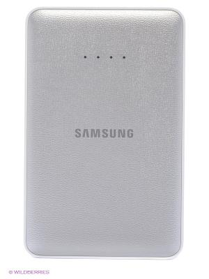 Портативное зарядное устройство+кабель microUSB Samsung. Цвет: белый, серый