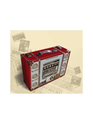 Декоративная шкатулка Магнитофон Magic Home. Цвет: красный