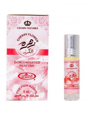 Арабские масляные духи Цветок вишни (Cherry Flower), 6 мл Al Rehab. Цвет: лиловый, бледно-розовый, белый