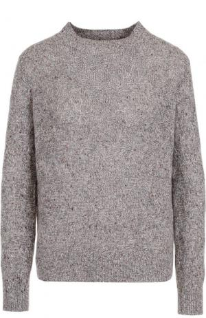 Кашемировый пуловер прямого кроя Marc Jacobs. Цвет: серый