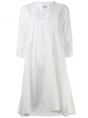 Короткое платье Dosa. Цвет: белый