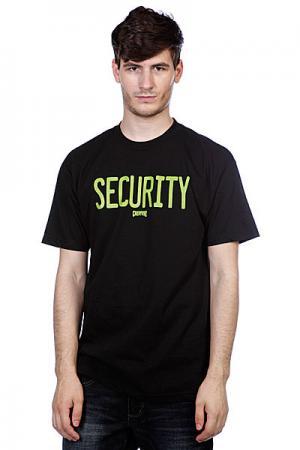 Футболка  Security Black Creature. Цвет: черный