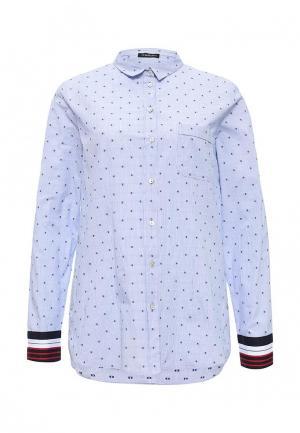 Рубашка Motivi. Цвет: голубой