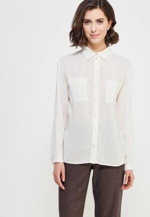 Блуза Devur. Цвет: белый