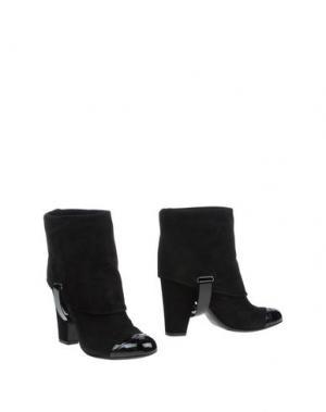Полусапоги и высокие ботинки BORGO DEGLI ULIVI. Цвет: черный