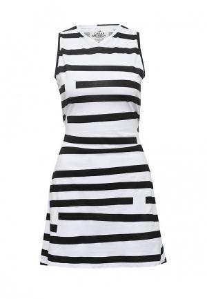 Платье Cheap Monday. Цвет: черно-белый