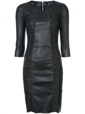 Платье Express Jitrois. Цвет: чёрный