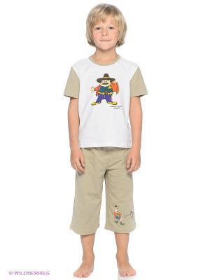 Комплект одежды Nirey. Цвет: бежевый