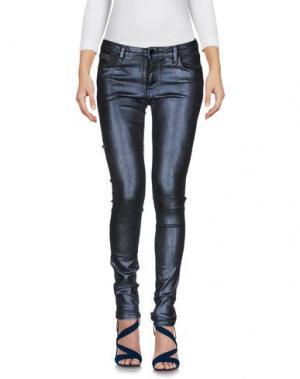 Джинсовые брюки AARCC. Цвет: темно-синий