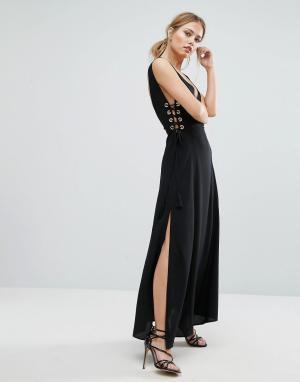 Finders Keepers Платье Amos. Цвет: черный
