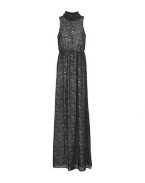 Длинное платье INTROPIA. Цвет: серый