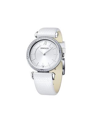 Часы ювелирные коллекция Perfection SOKOLOV. Цвет: белый