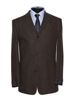Пиджак FOSP. Цвет: коричневый