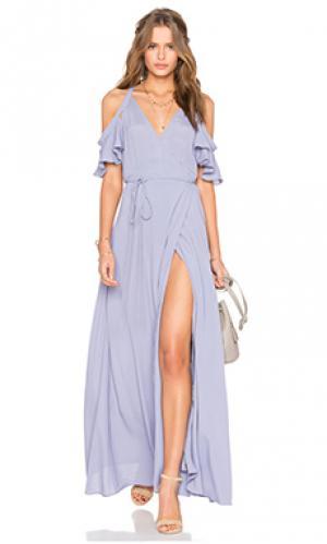 Платье acme Privacy Please. Цвет: фиолетовый