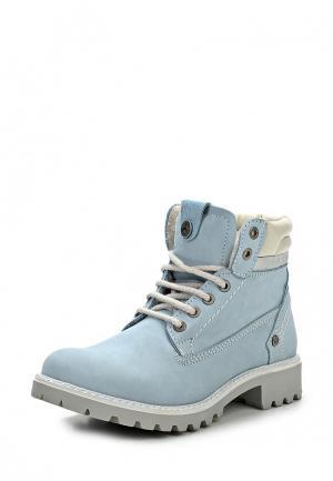 Ботинки Wrangler. Цвет: голубой