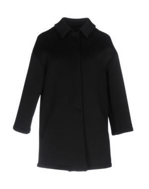 Пальто GUTTHA. Цвет: черный