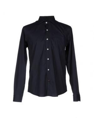 Pубашка BARBATI. Цвет: темно-синий
