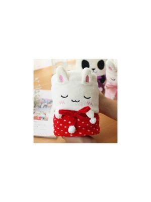 Плед-трансформер Rabbit (красный) Kawaii Factory. Цвет: красный