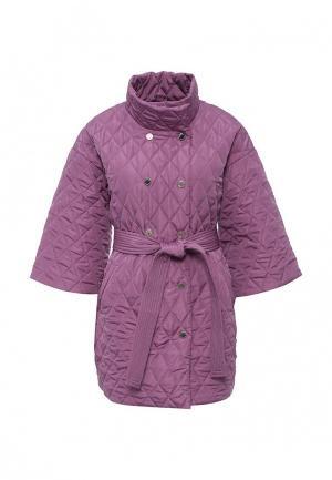 Куртка утепленная Tutto Bene. Цвет: фиолетовый