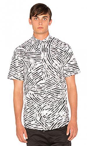 Рубашка ss merlini I Love Ugly. Цвет: белый