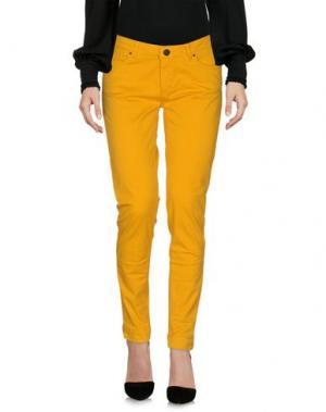 Повседневные брюки SINÉQUANONE. Цвет: охра