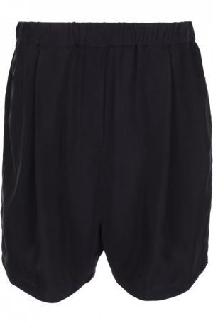 Мини-шорты с эластичным ремнем и карманами Damir Doma. Цвет: черный