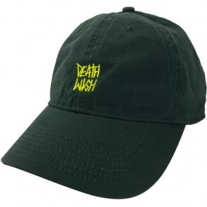 New DEATHSTACK FOREST DAD CAP DEATHWISH. Цвет: green