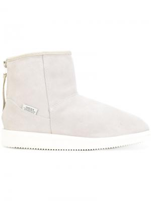 Ridged sole boots Suicoke. Цвет: серый