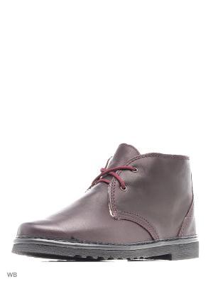 Ботинки Inblu. Цвет: бордовый